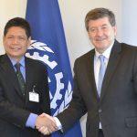 Foto bilateral Dirjen ILO Sekjen